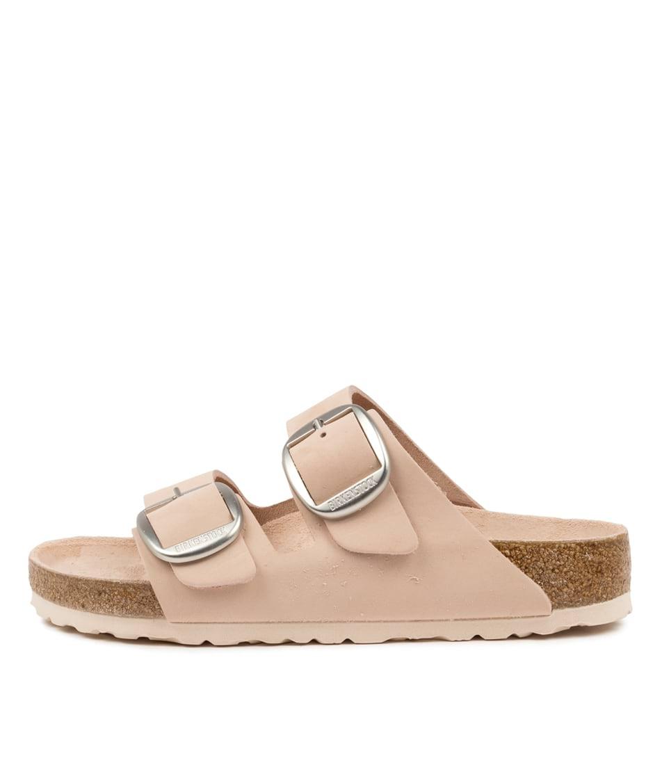Buy Birkenstock Arizona Big Buckle Nu W Bk Light Rose Flat Sandals online with free shipping