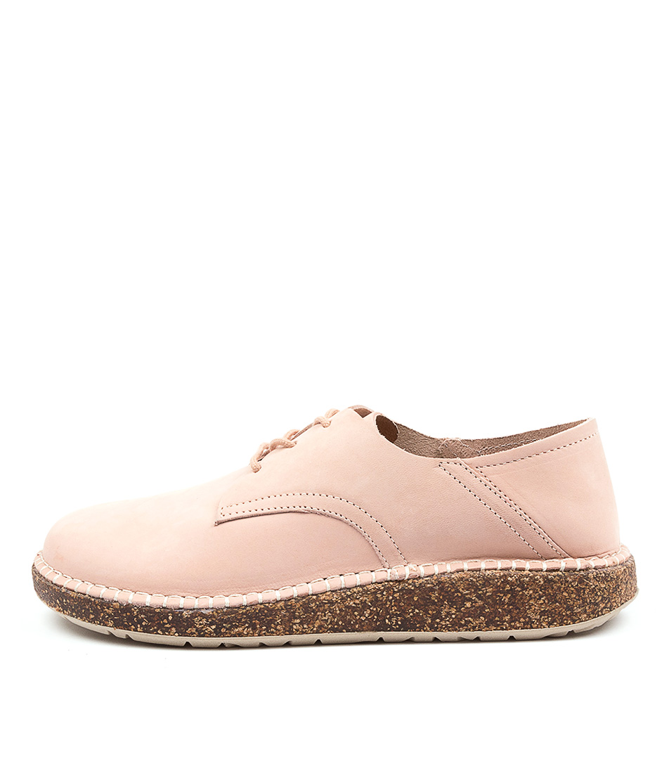 Buy Birkenstock Gary Su W Bk Rose Flats online with free shipping