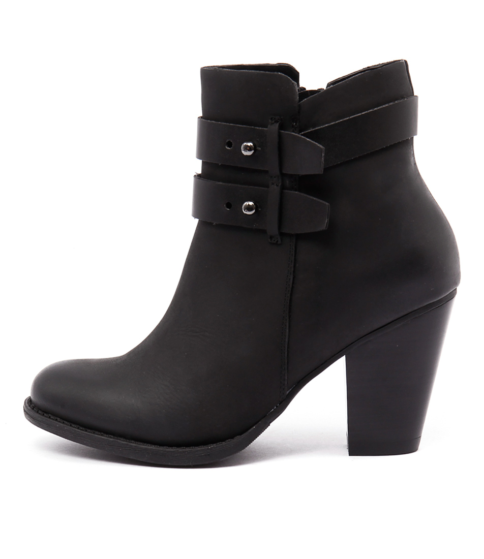 Bonbons Shaft Black Casual Ankle Boots