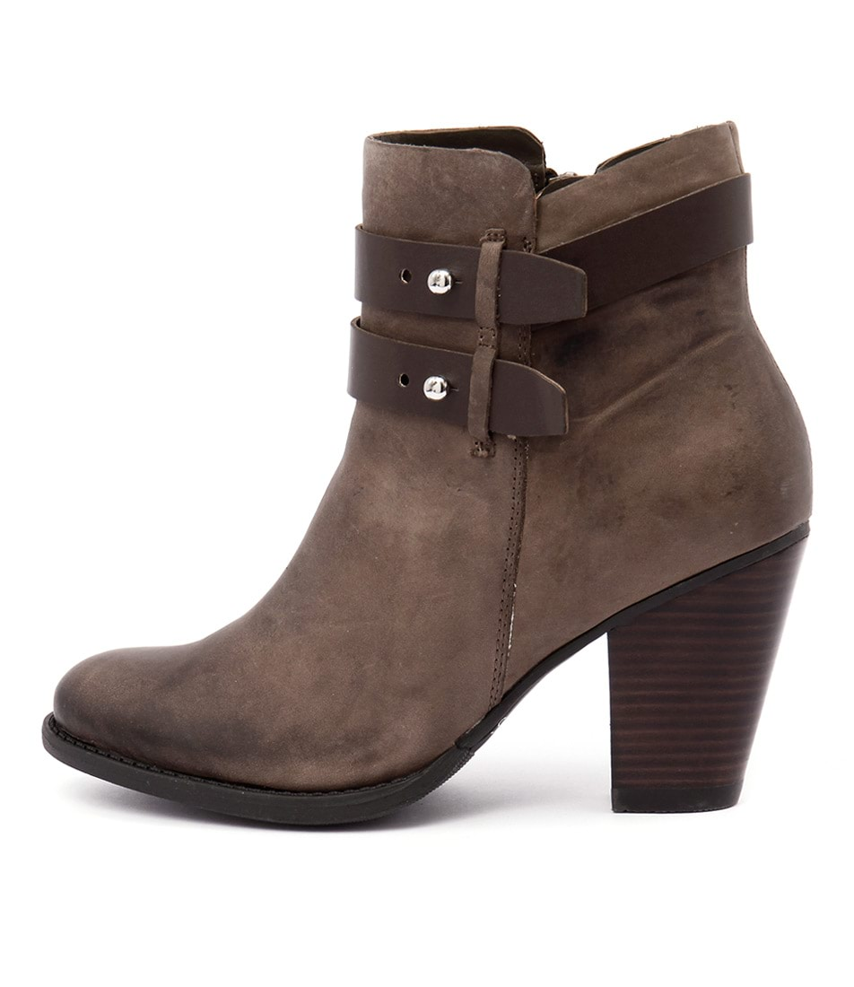 Bonbons Shaft Taupe Ankle Boots