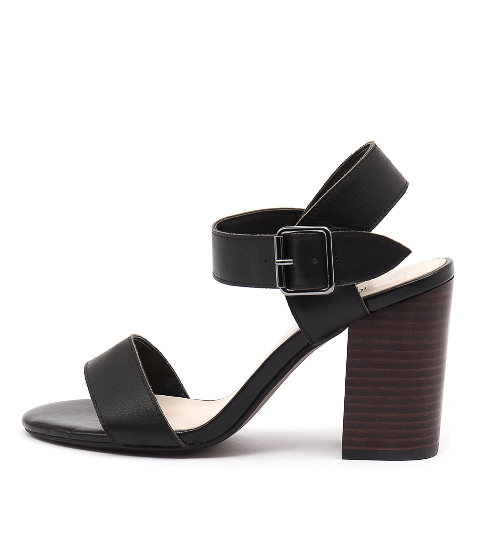 Bonbons Nibby Black Dress Heeled Sandals