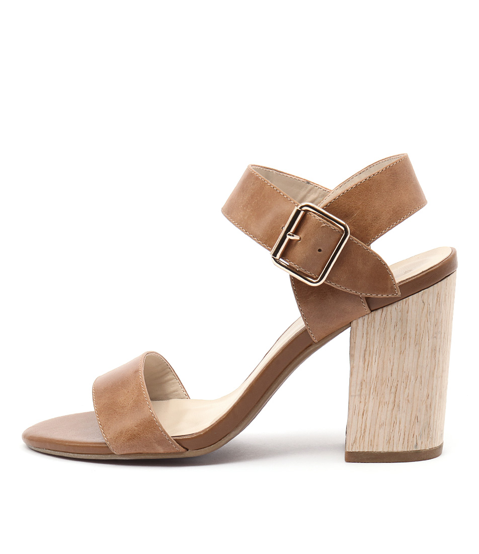 Bonbons Nibby Tan Heeled Sandals