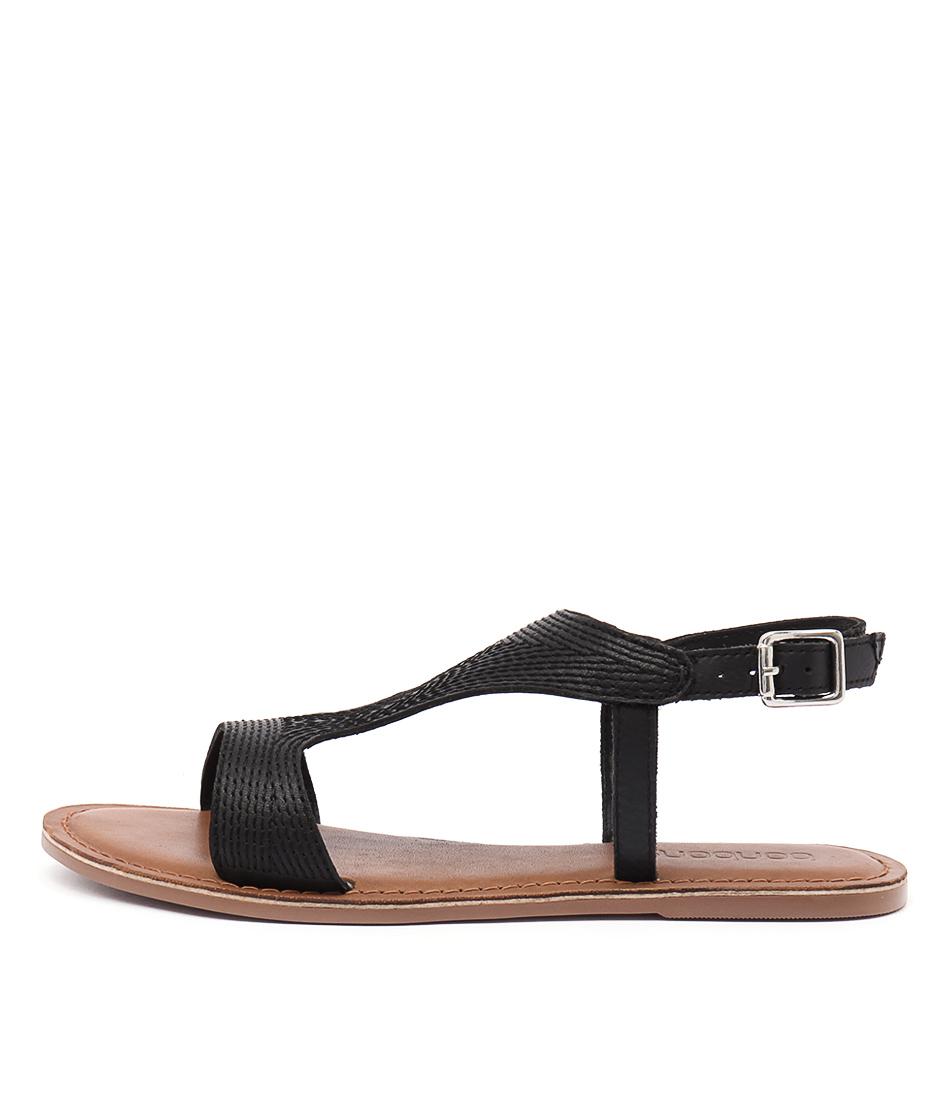 Bonbons Franci Black Sandals