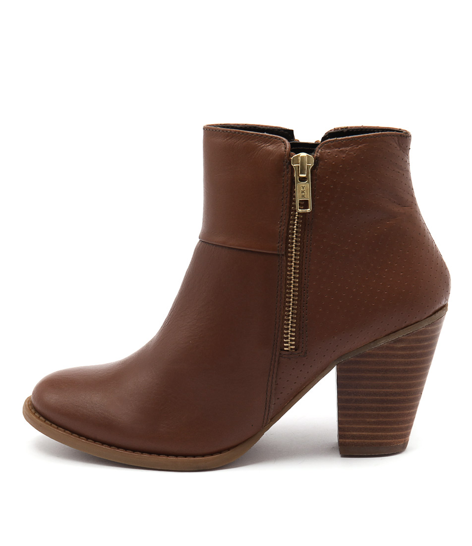 Bonbons Sam Tan Dress Ankle Boots