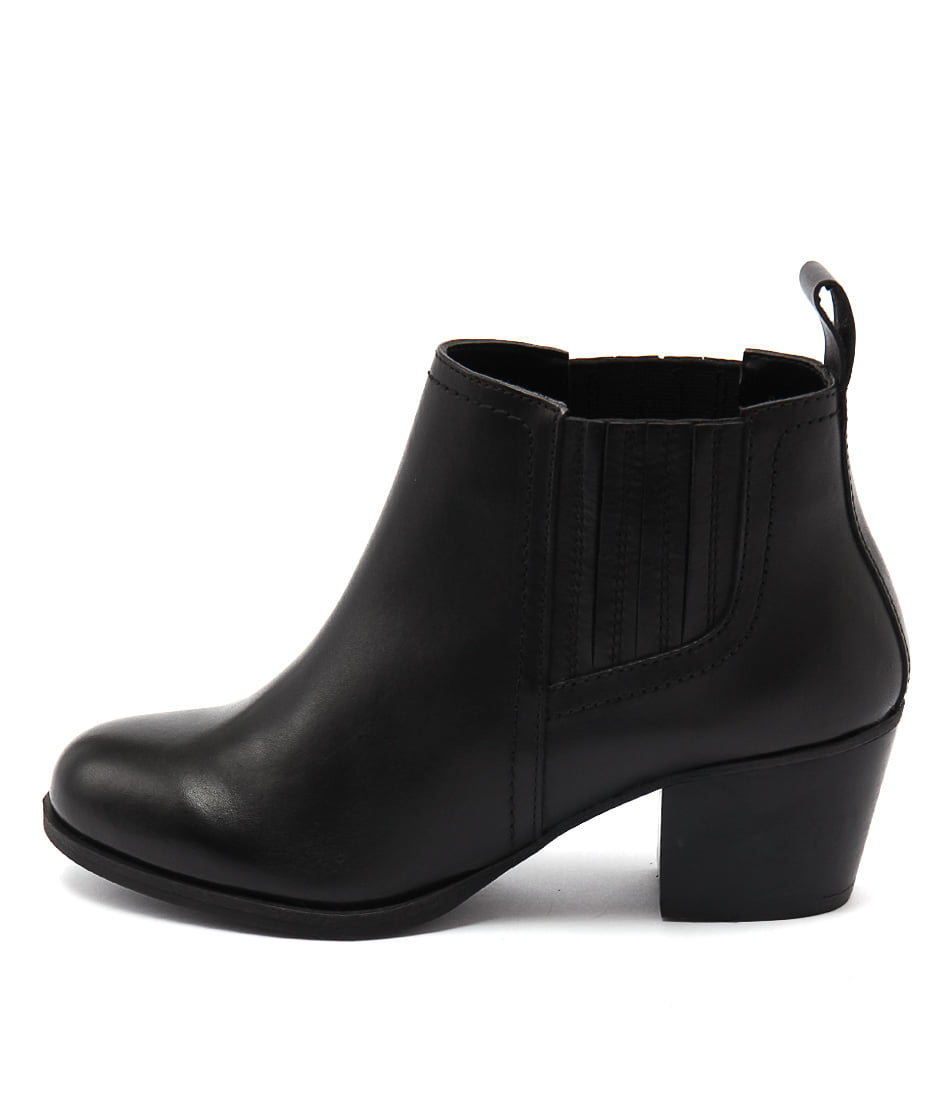 Bonbons August Black Ankle Boots