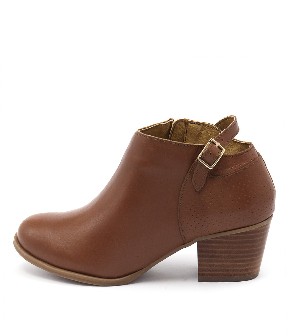 Bonbons Audrie Natural Dress Ankle Boots