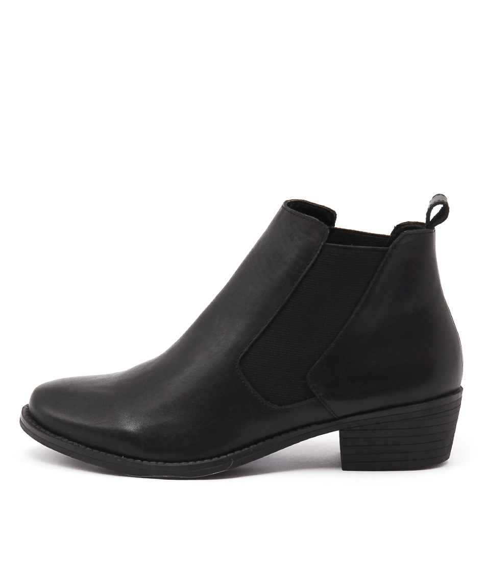 Bonbons Wilson Black Dress Ankle Boots