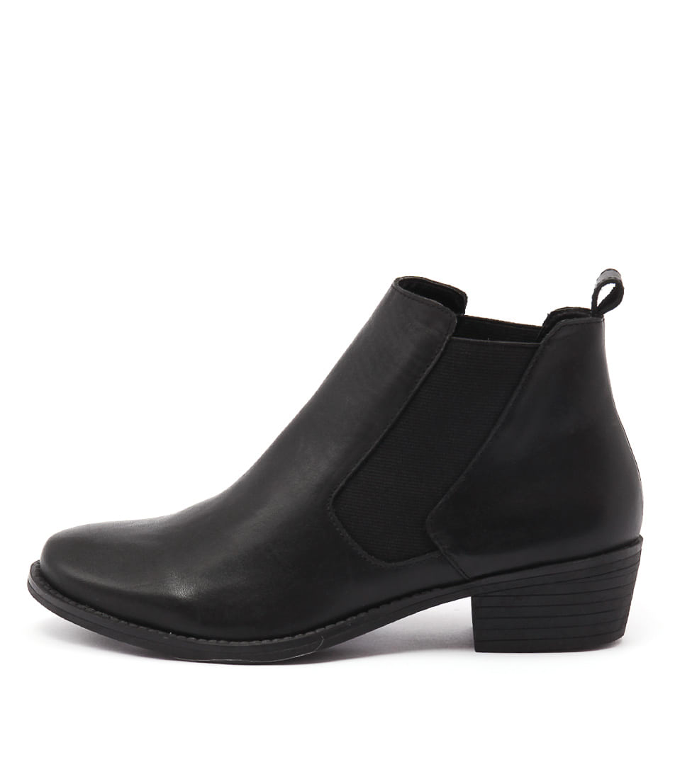 Photo of Bonbons Wilson Black Ankle Boots womens shoes