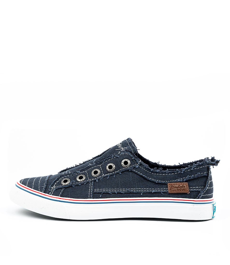 Buy Blowfish Play Bw Navy Sneakers online with free shipping