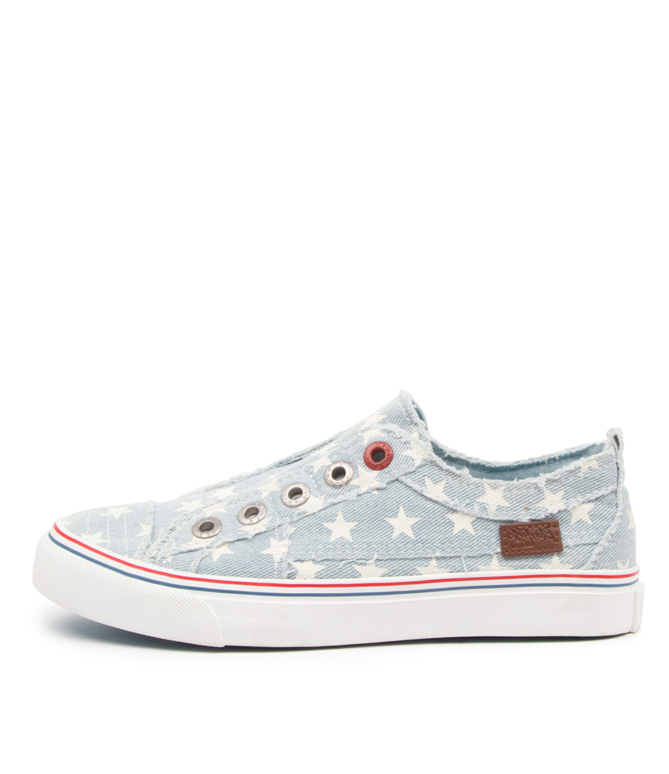 Buy Blowfish Play Bw Ice Denim Star Sneakers online with free shipping