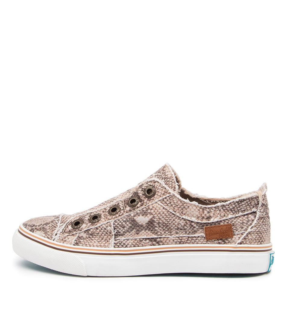 Buy Blowfish Play Bw Natural Snake Sneakers online with free shipping
