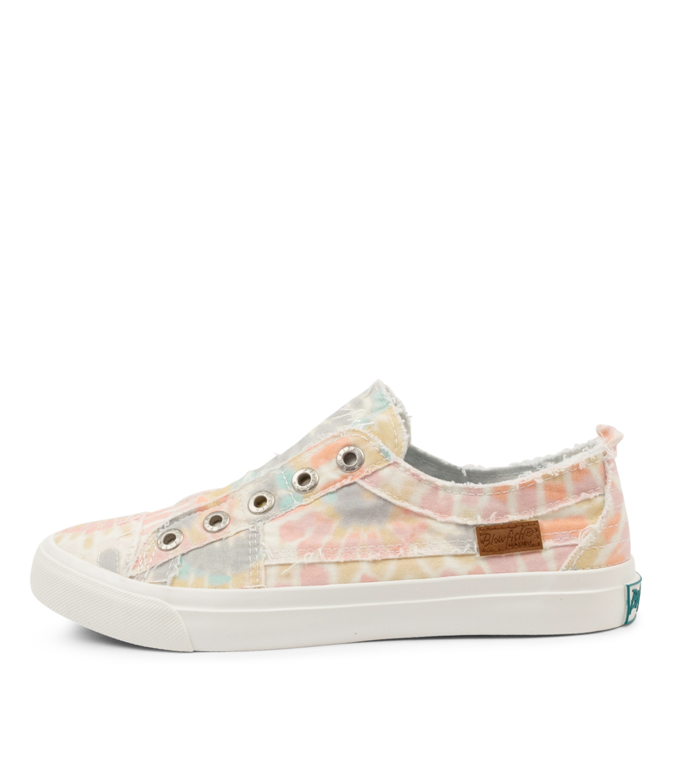 Buy Blowfish Play Bw Babydoll Tie Dye Sneakers online with free shipping