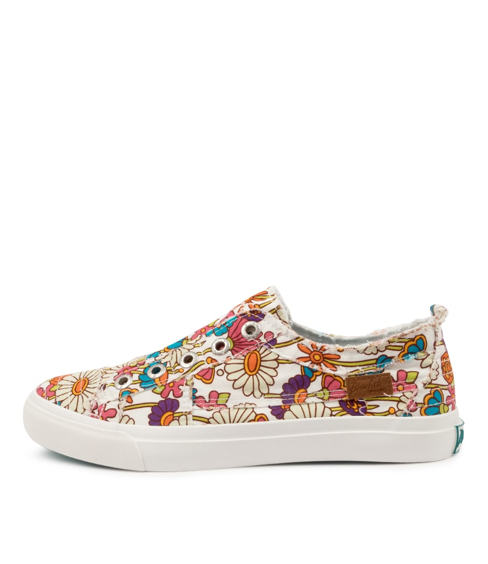 Buy Blowfish Play Bw Off White Get Happy Sneakers online with free shipping