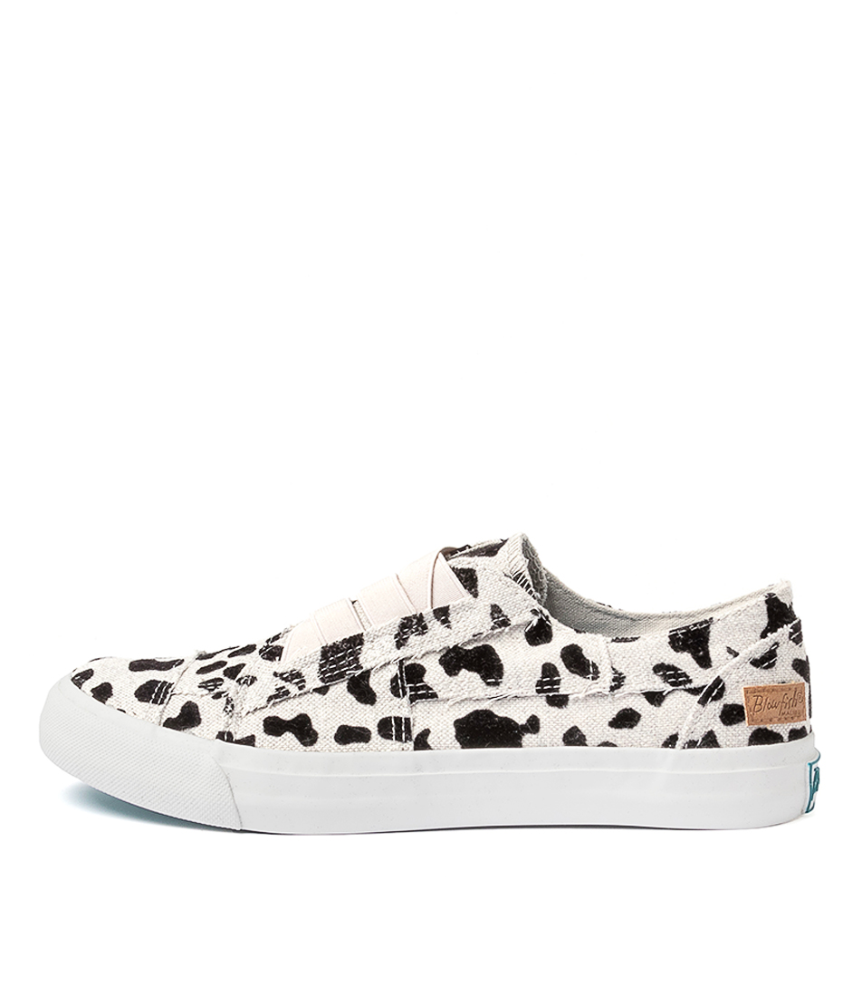 Buy Blowfish Marley Bw Grey Fuzzy Leopard Sneakers online with free shipping