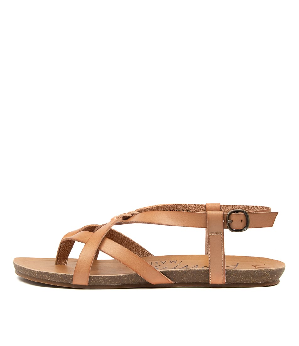 Buy Blowfish Granola B Nude Flat Sandals online with free shipping