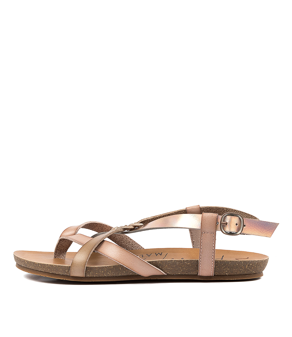 Buy Blowfish Granola B Blush Taupe Sol Flat Sandals online with free shipping