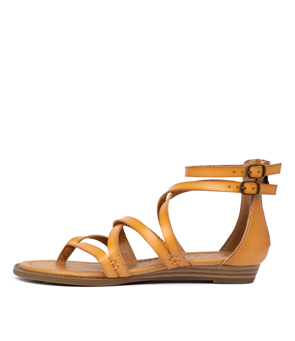 Buy Blowfish Bungalow Desert Sand Flat Sandals online with free shipping