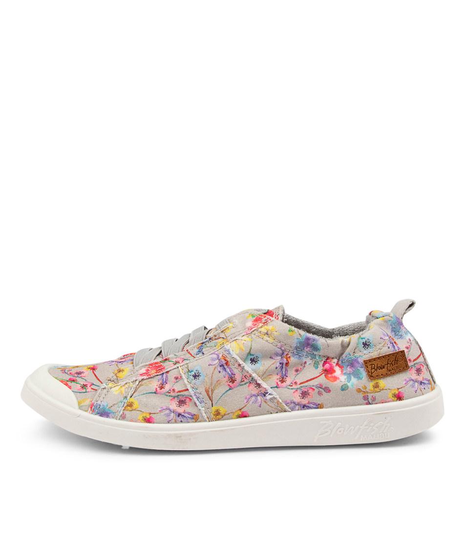 Buy Blowfish Vex Bw Grey Freedom Floral Sneakers online with free shipping