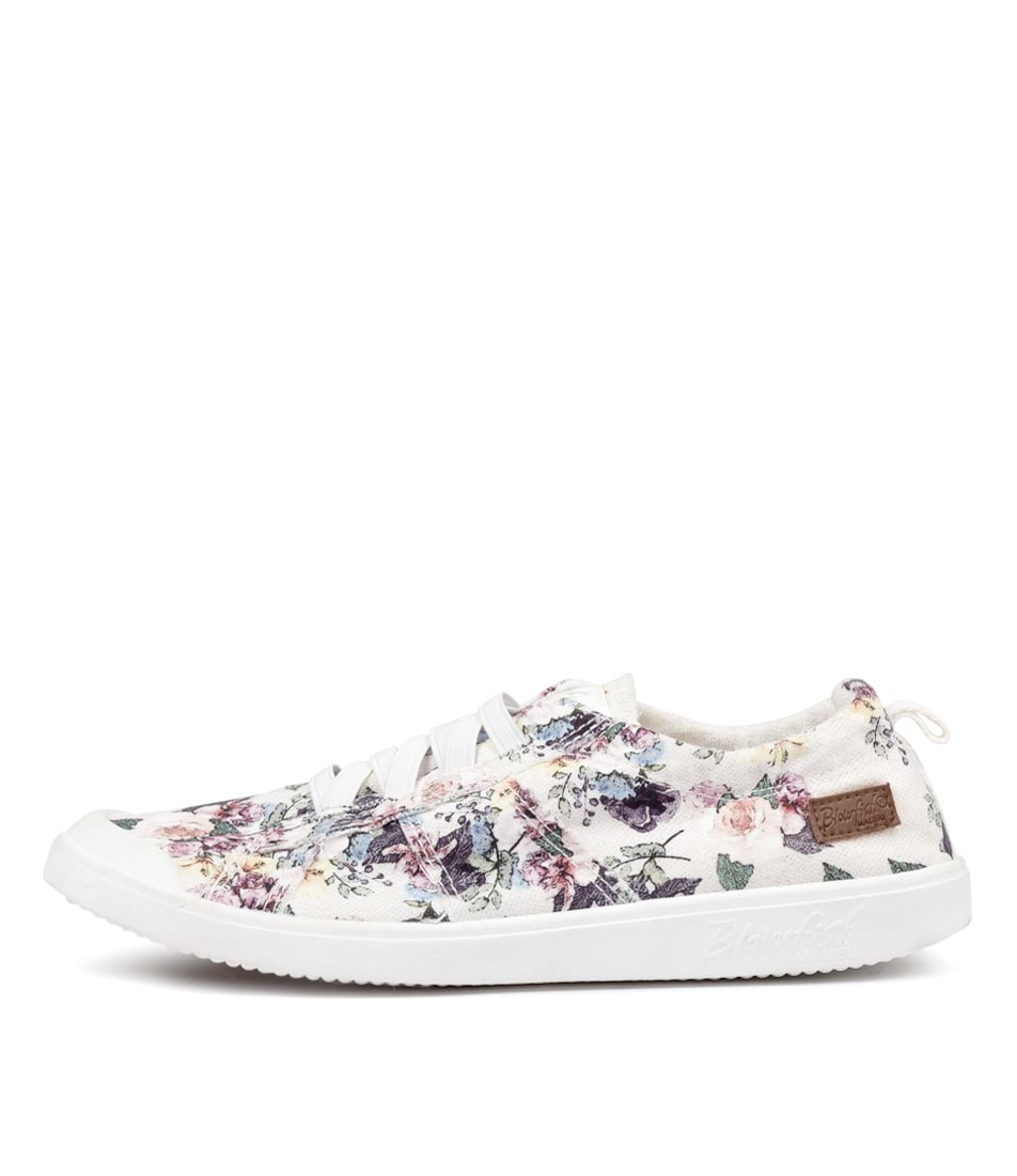 Buy Blowfish Vex Bw White Bella Print Sneakers online with free shipping