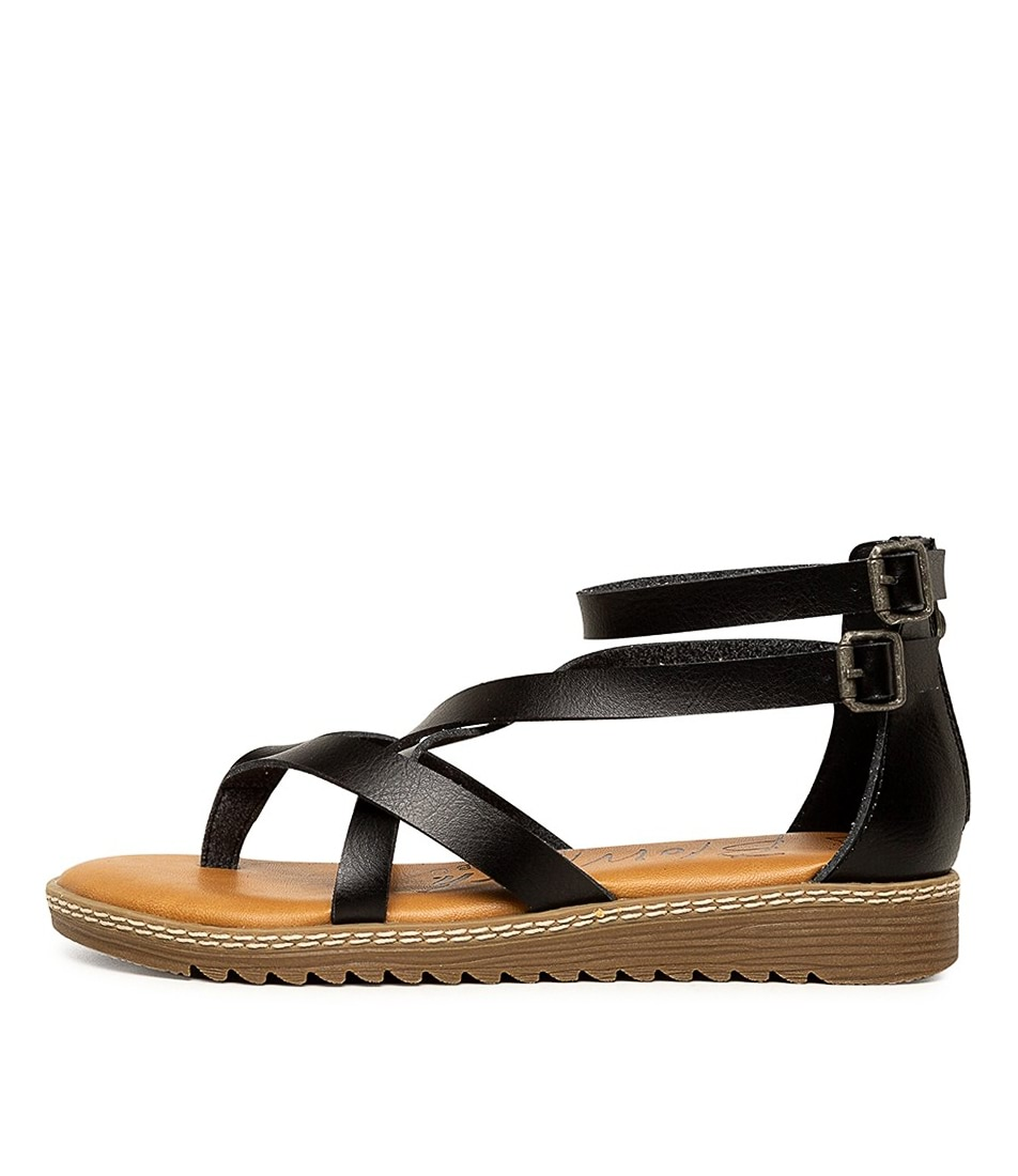 Buy Blowfish Ohio Bw Black Sandals online with free shipping