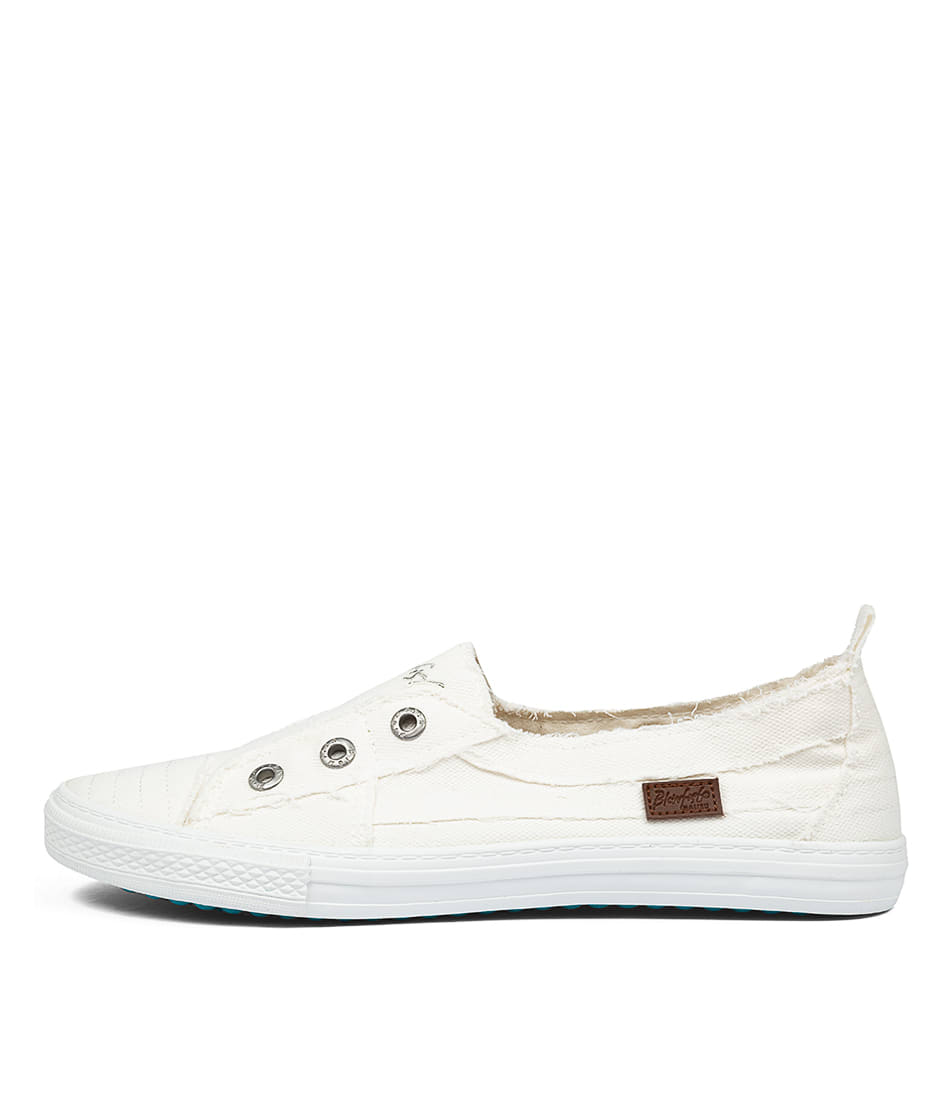 Buy Blowfish Aussie Bw White Sneakers online with free shipping