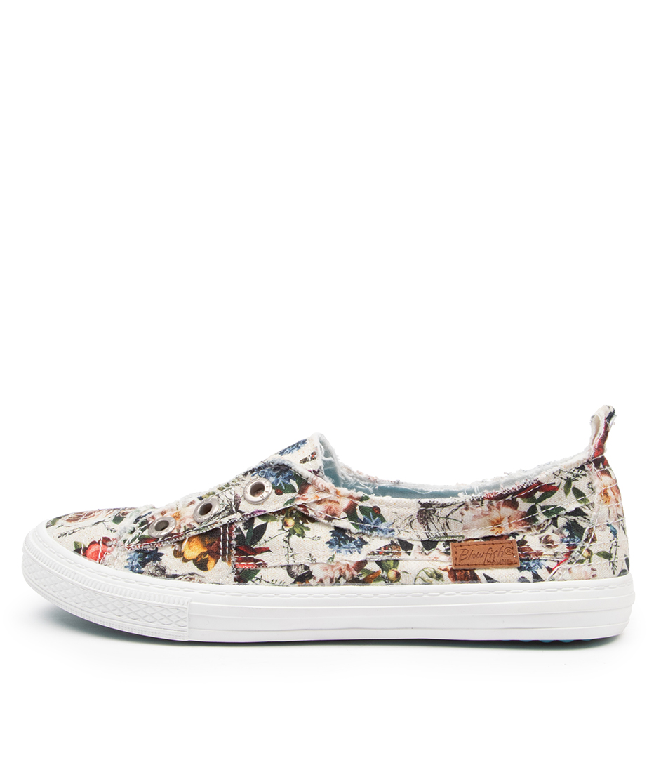 Buy Blowfish Aussie Bw Cream Vintage Petal Sneakers online with free shipping