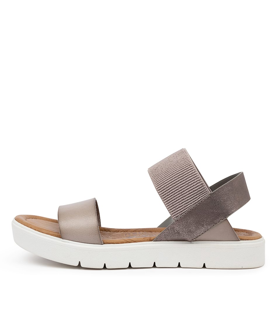 Buy Blowfish Boss Bw Smokey Pewter Flat Sandals online with free shipping
