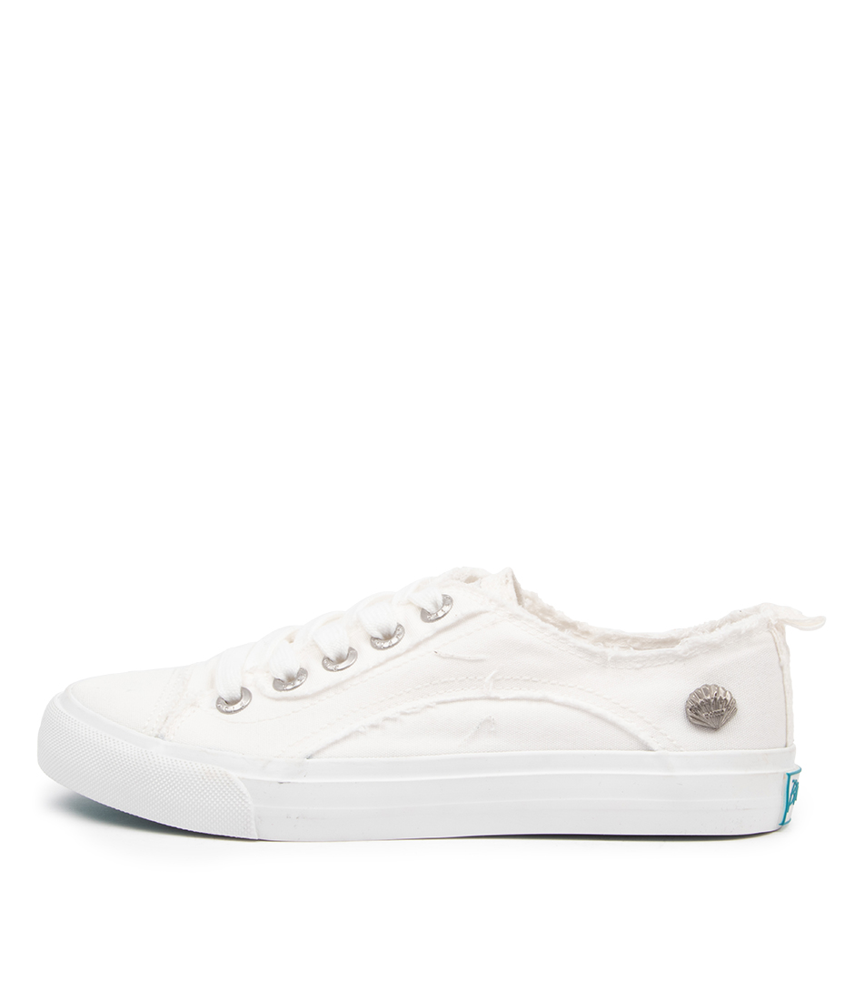 Buy Blowfish Merci Bw White Sneakers online with free shipping