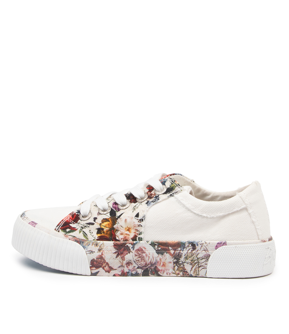 Buy Blowfish Cookie Bw Cream Vintage Petal Sneakers online with free shipping