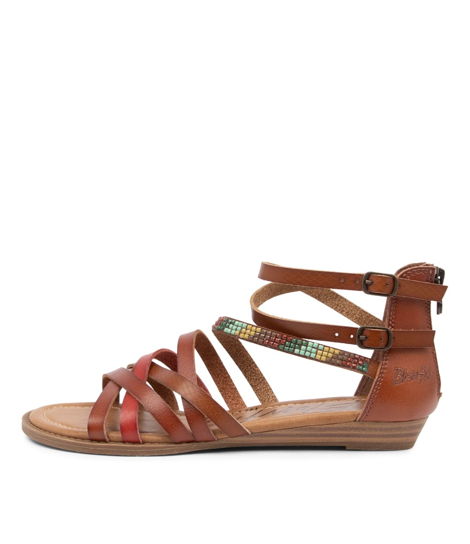 Buy Blowfish Brianne Bw Scotch Multi Flat Sandals online with free shipping