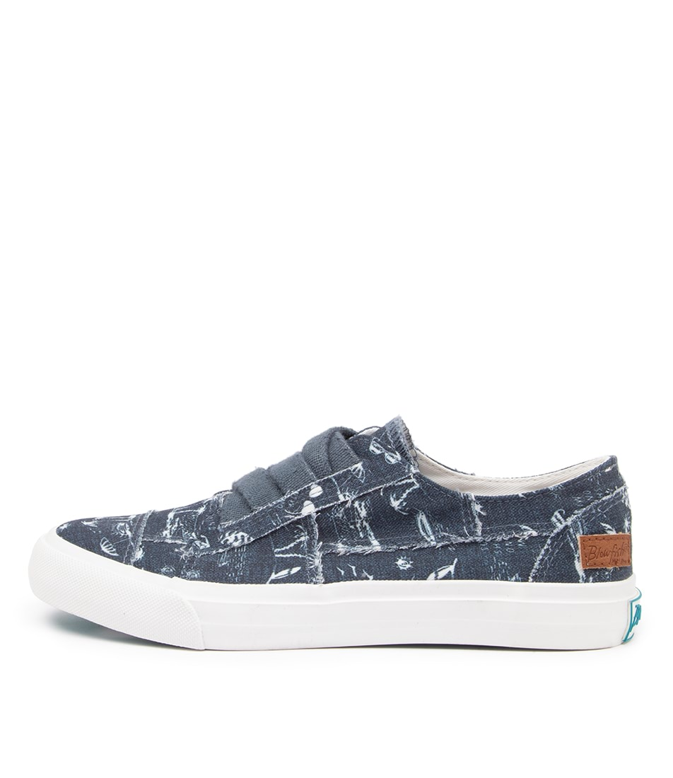 Buy Blowfish Marley4 Earth Bw Navy Summer Lovin Sneakers online with free shipping