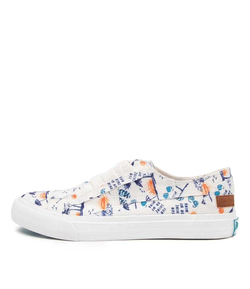 Buy Blowfish Marley4 Earth Bw Off White Summer Lovin Sneakers online with free shipping