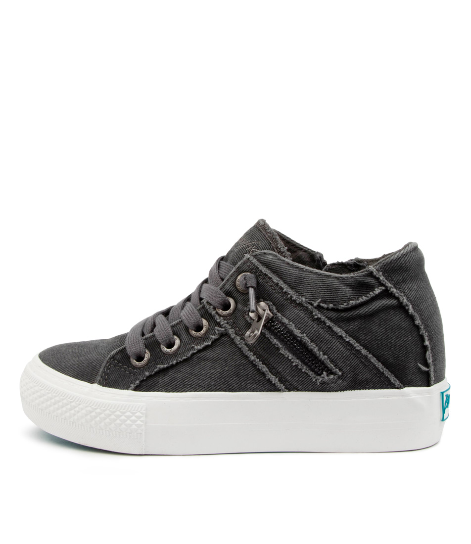 Buy Blowfish Melondrop Bw Grey Hipster Sneakers online with free shipping