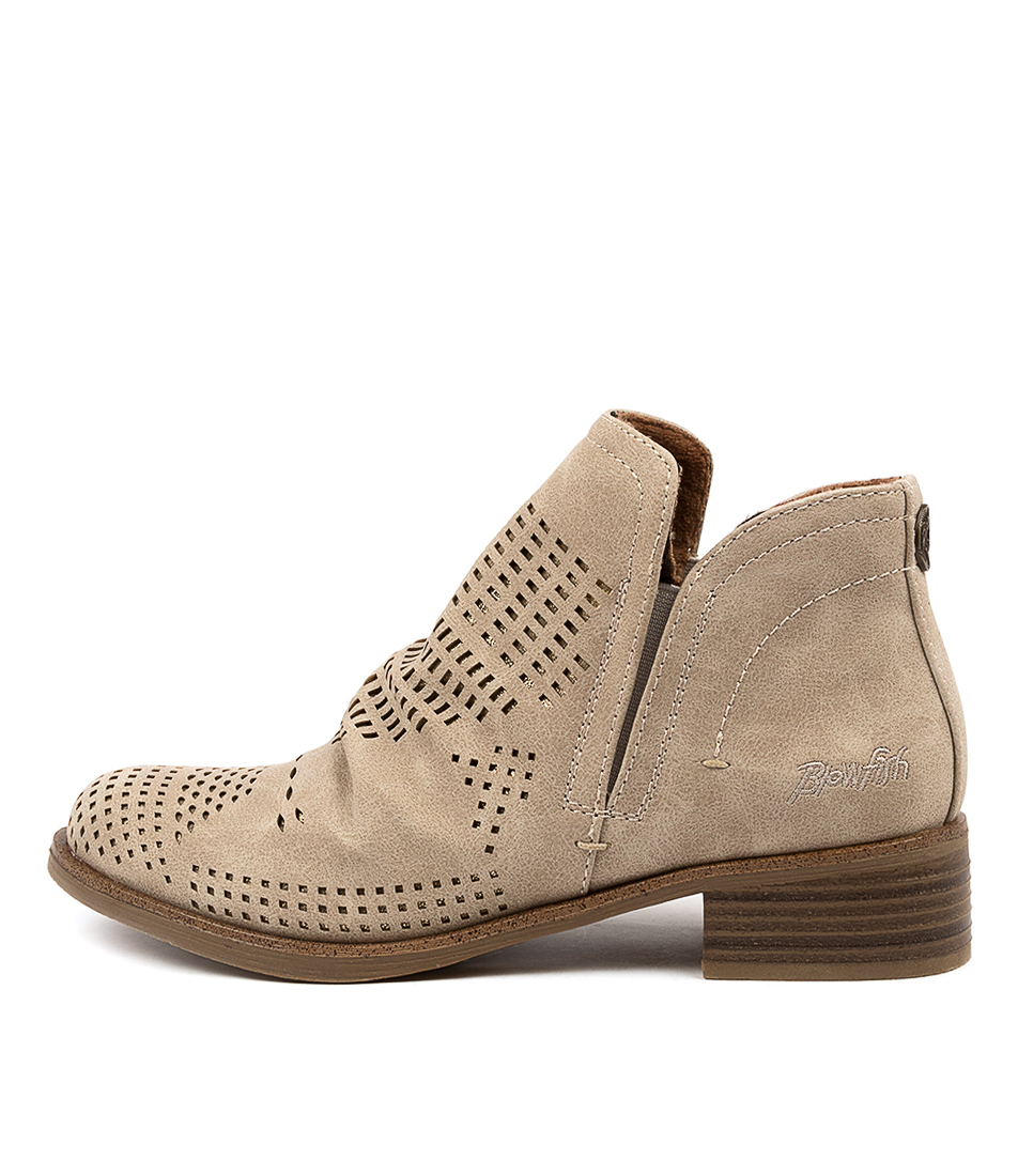 Buy Blowfish Venomc Bw Lt Taupe Ankle Boots online with free shipping