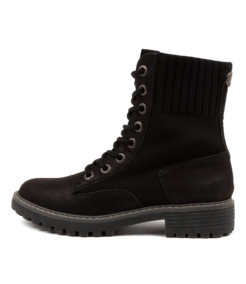 Buy Blowfish Reilly Bw Black Ankle Boots online with free shipping