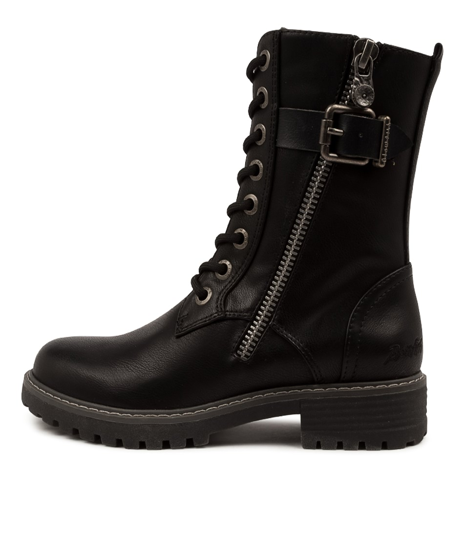 Buy Blowfish Rauly Bw Black Ankle Boots online with free shipping