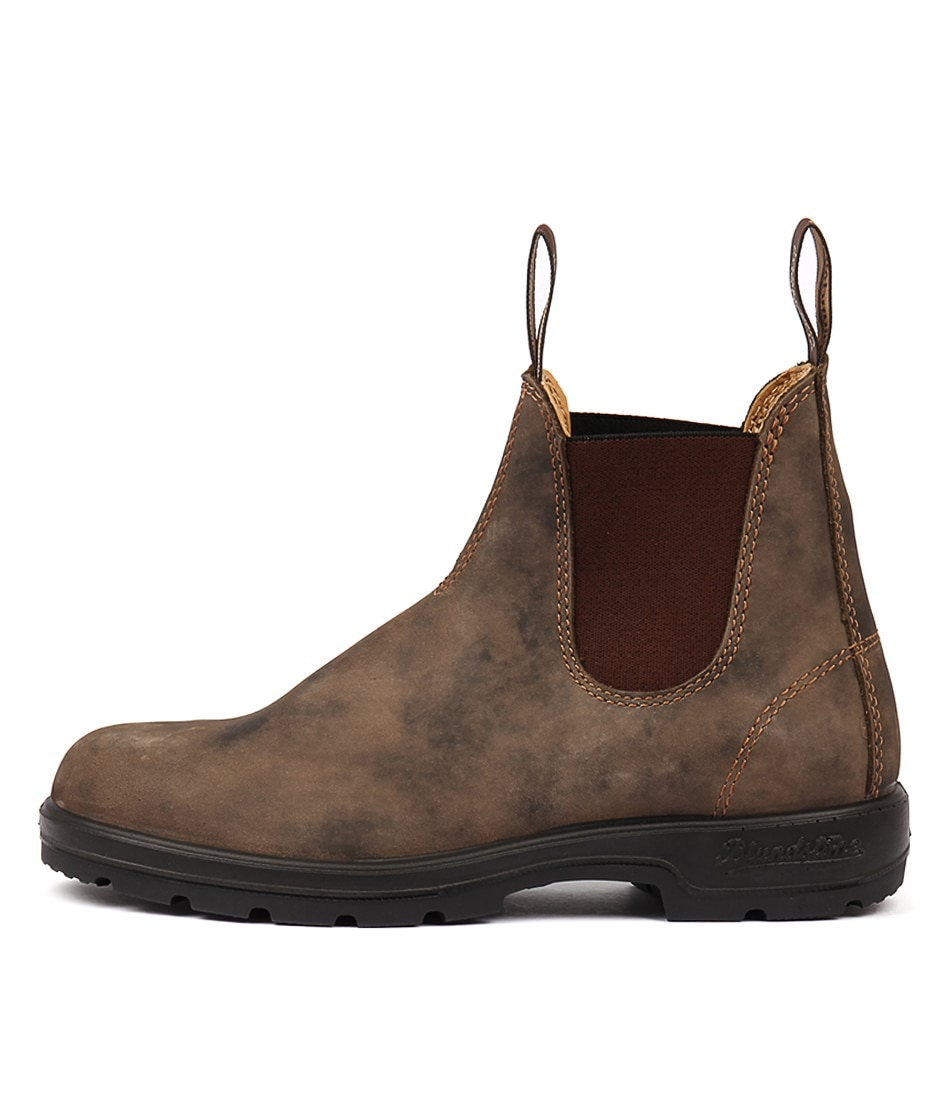 Buy Blundstone 585 Rustic Brown Ankle Boots online with free shipping