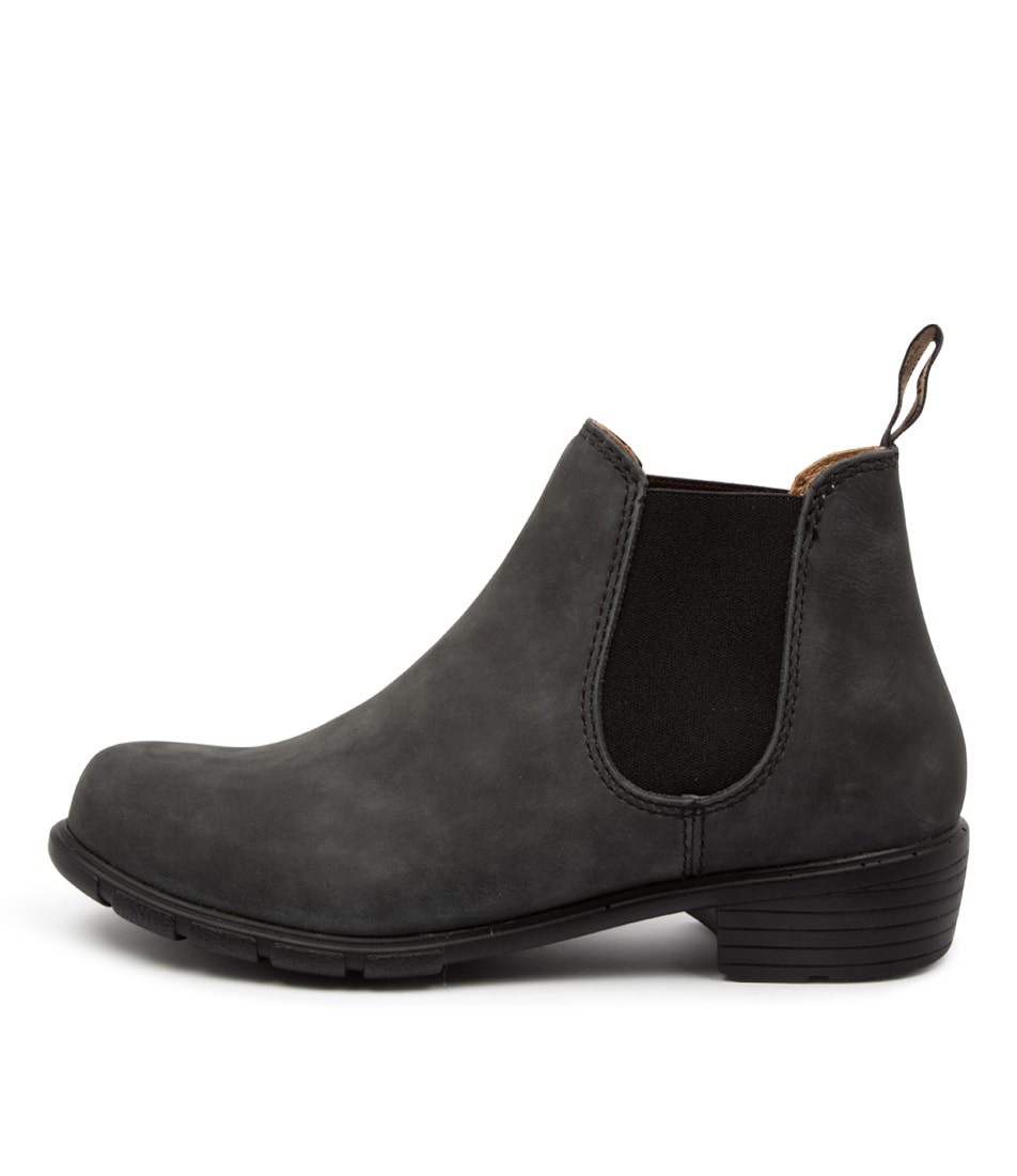 Buy Blundstone 1971 Bz Rustic Black Ankle Boots online with free shipping