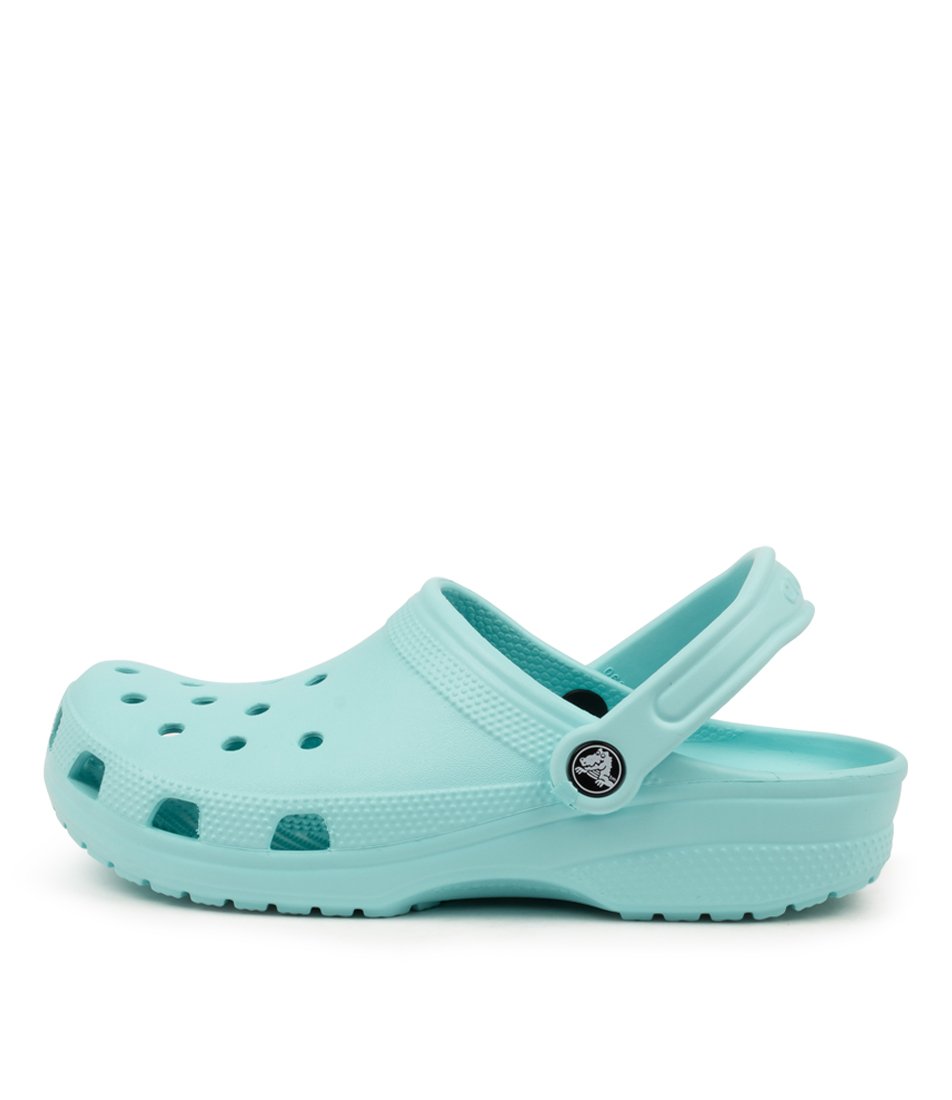 Buy Crocs 10001 Classic W Cc Ice Blue Flat Sandals online with free shipping