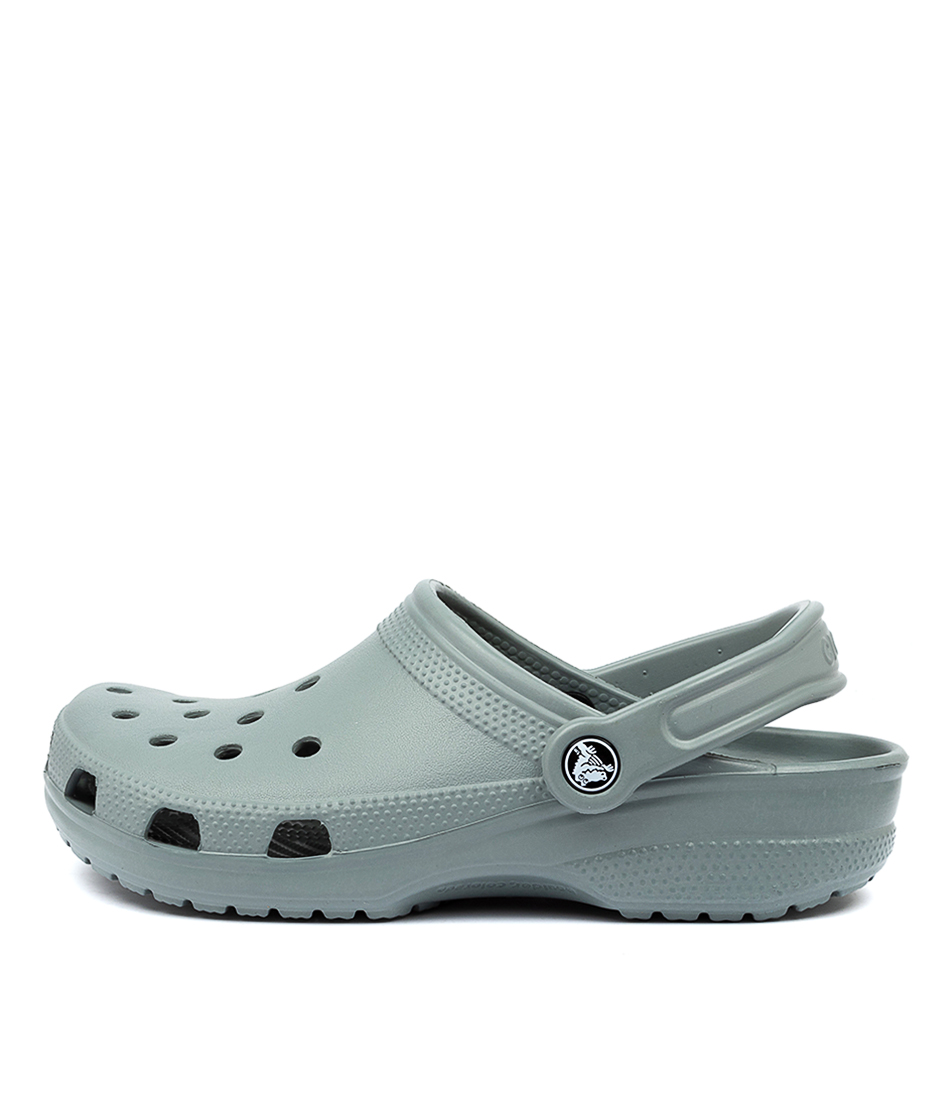 Buy Crocs 10001 Classic W Cc Dusty Green Sandals online with free shipping