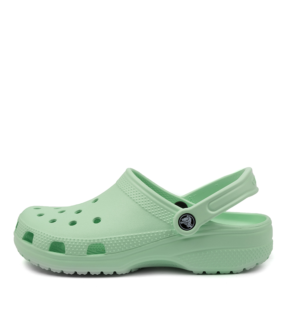 Buy Crocs 10001 Classic W Cc Neo Mint Flat Sandals online with free shipping