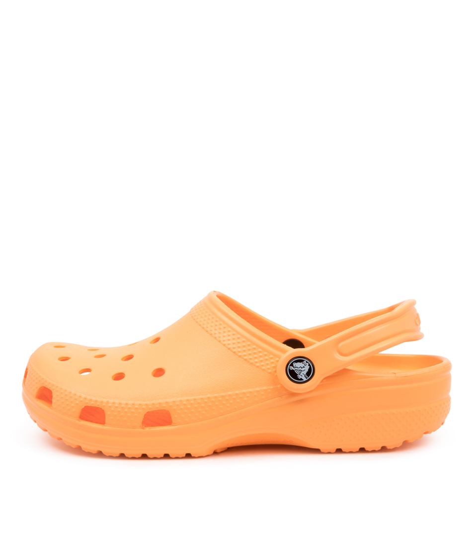 Buy Crocs 10001 Classic W Cc Cantaloupe Sandals online with free shipping