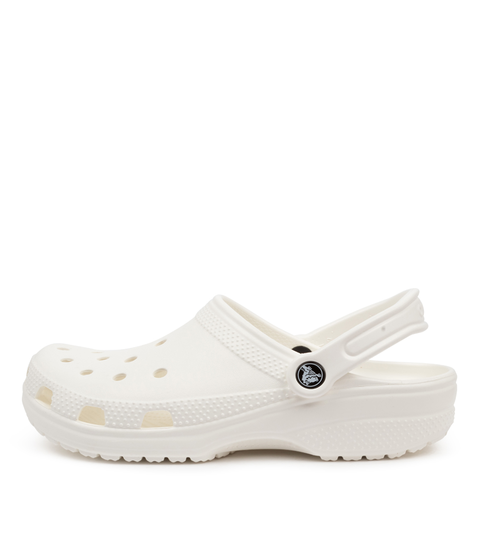 Buy Crocs 10001 Classic W Cc White Sandals online with free shipping