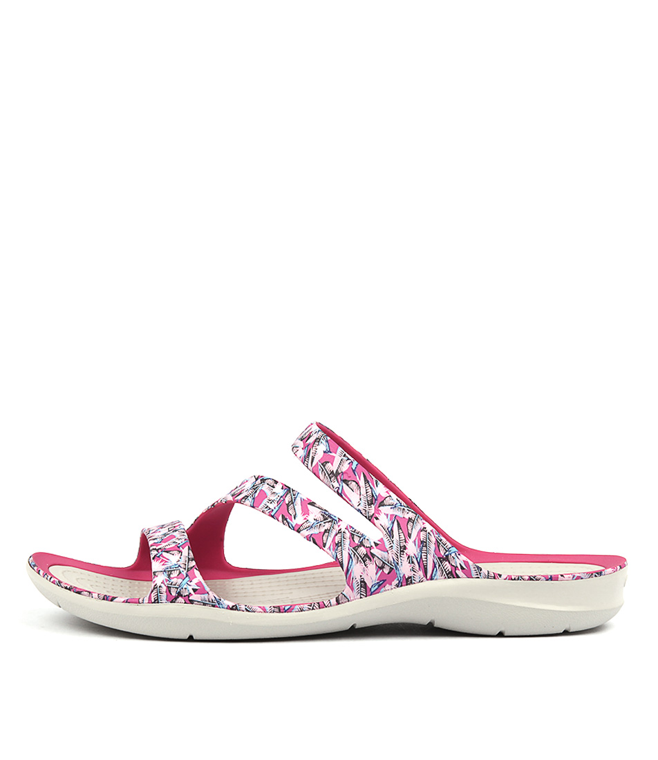 Crocs Swiftwater Grp Sandal Candy Pink Casual Flat Sandals