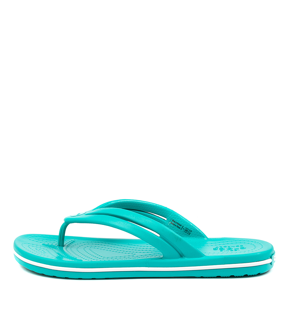 Buy Crocs 206100 Crocband Flip W Cc Latigo Bay Flat Sandals online with free shipping