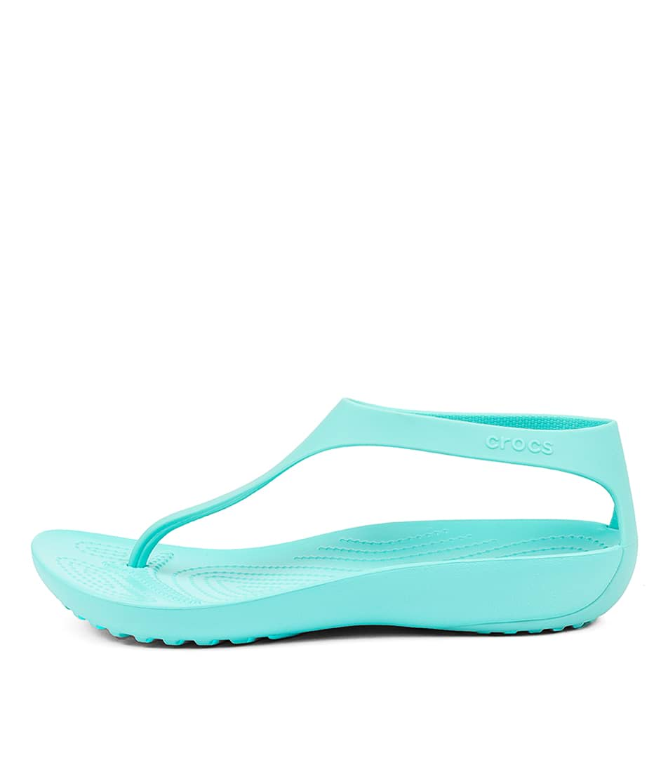 Buy Crocs Serena Flip W Pool Flat Sandals online with free shipping