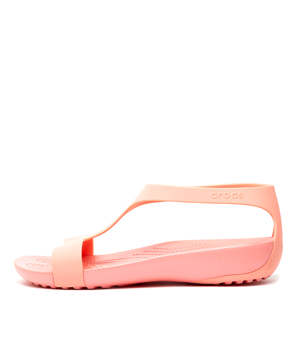 Buy Crocs Serena Sandal W Melon Melon Sandals online with free shipping