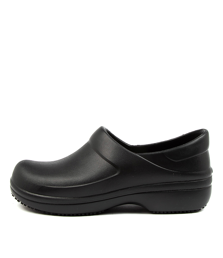 Buy Crocs 205384 Neria Pro Ii W Cc Black Flats online with free shipping
