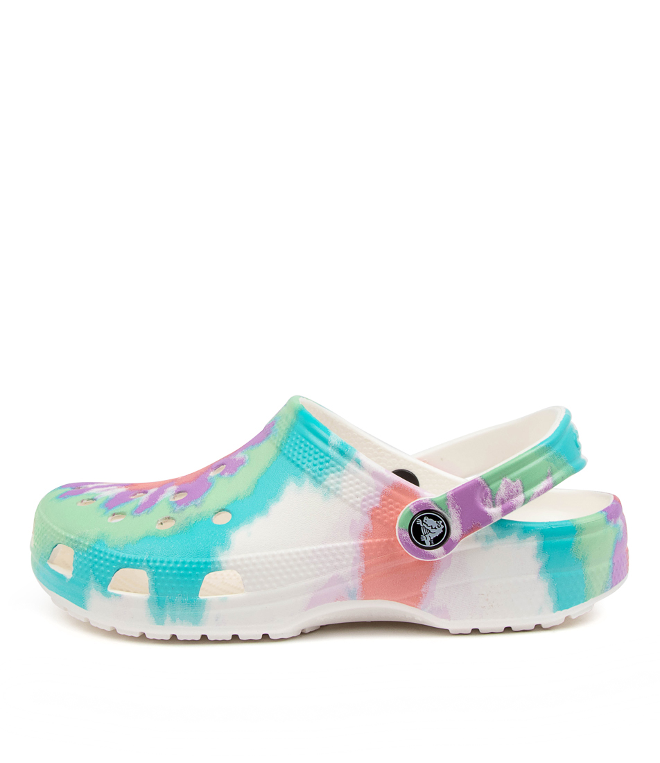 Buy Crocs 205453 Classic T D G Cc Fresco Multi Flat Sandals online with free shipping