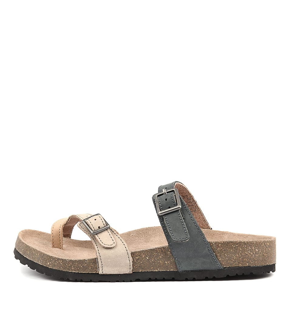 Colorado Wales Taupe Multi Flat Sandals